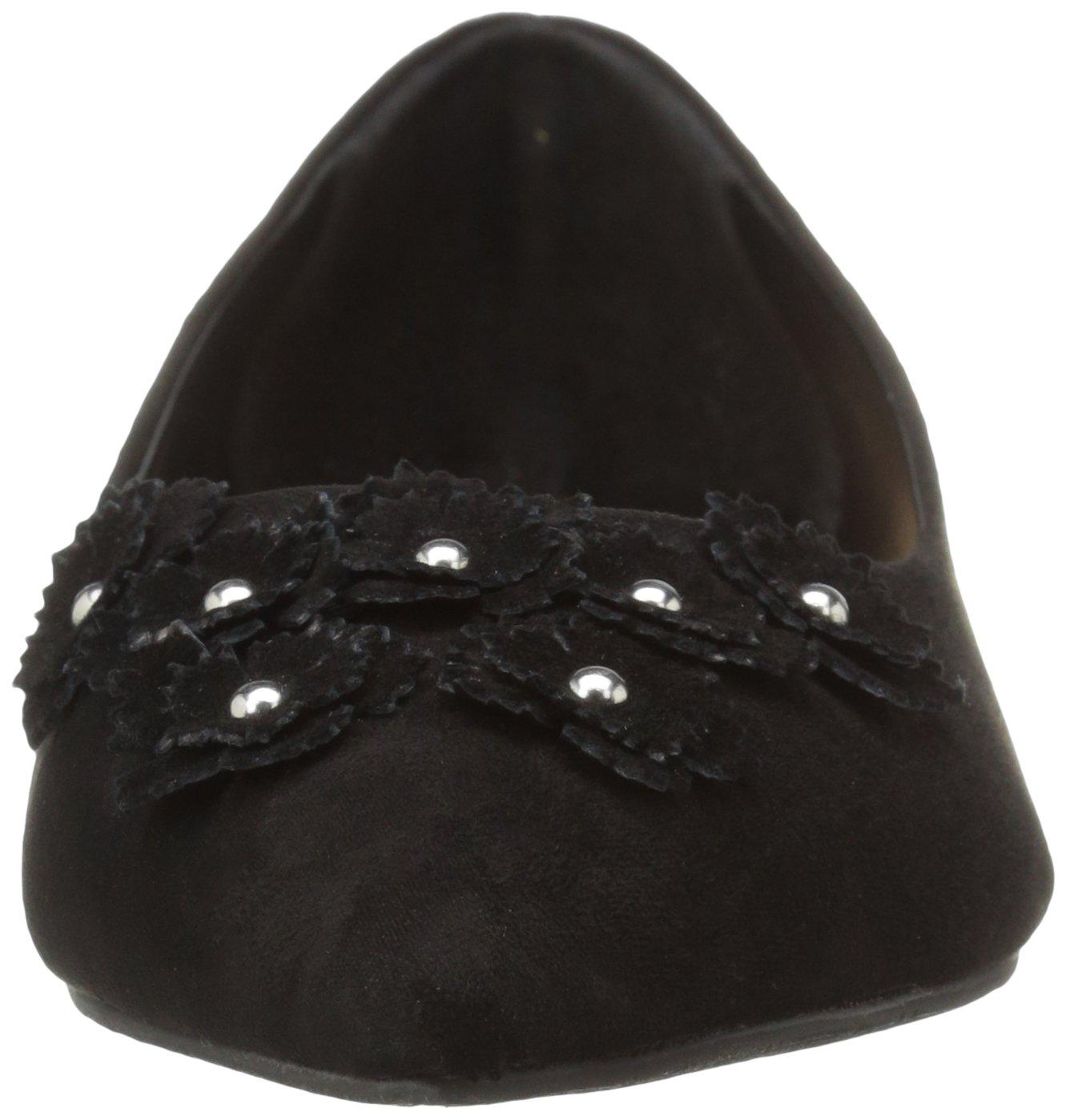 Daya by Zendaya Women's Marlow 9.5 Pointed Toe Flat B01K1J8ZJW 9.5 Marlow B(M) US|Black c9377e