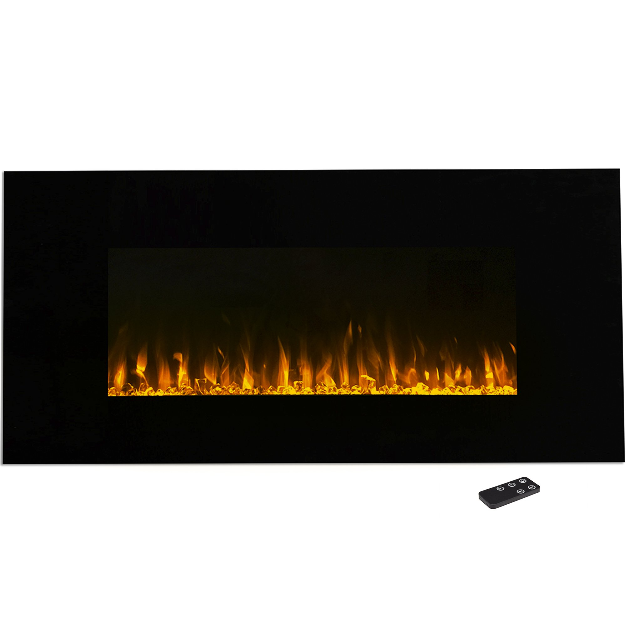 Electric Fireplace Wall Mounted, LED Fire and Ice Flame, With Remote 42 inch by Northwest by Northwest (Image #1)