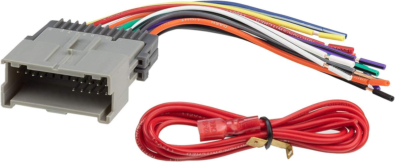 Scosche GM05B 2000-Up Speaker Connector for Chevrolet Metro//Tracker//Prizm//Venture