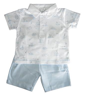 b7a4d70d3f72 Amazon.com  Kissy Kissy Baby-Boys Infant Bunches Of Bunnies Bermuda ...