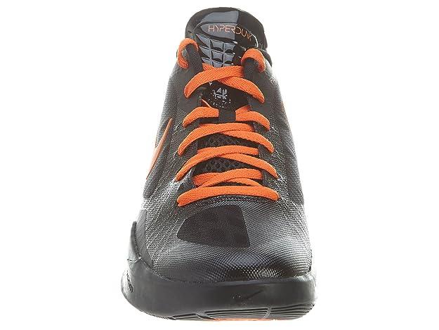 more photos cc160 57677 Amazon.com   Nike Zoom Hyperdunk 2011 Low Black Orange Linsanity Jeremy Lin  Knicks 487638-081  US size 12    Shoes