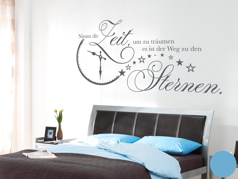 Klebefieber Wandtattoo Nimm Dir Zeit B x H H H  140cm x 70cm Farbe  Dunkelgrau B072F3T4ZB Wandtattoos & Wandbilder e1bdf0