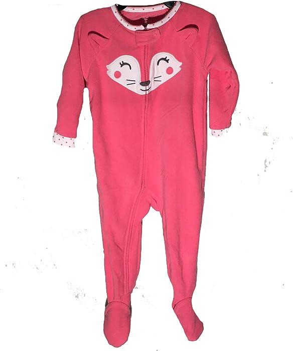 e062e1812acb Amazon.com  Carter s Baby Girls Fleece Sleeper with Footies