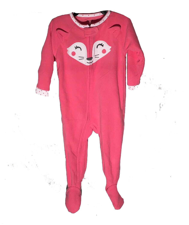 【ギフ_包装】 Carters赤ちゃん女の子フリーススリーパーwith B06WD7MYDH footies、ピンク猫、18ヶ月 B06WD7MYDH, 【外部サイト】オイシックス:040b304c --- a0267596.xsph.ru
