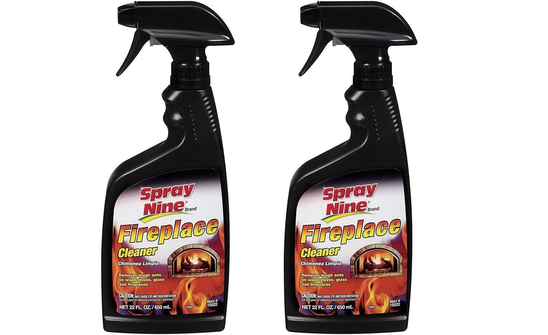 amazon com spray nine 15022 fireplace cleaner 22 oz automotive