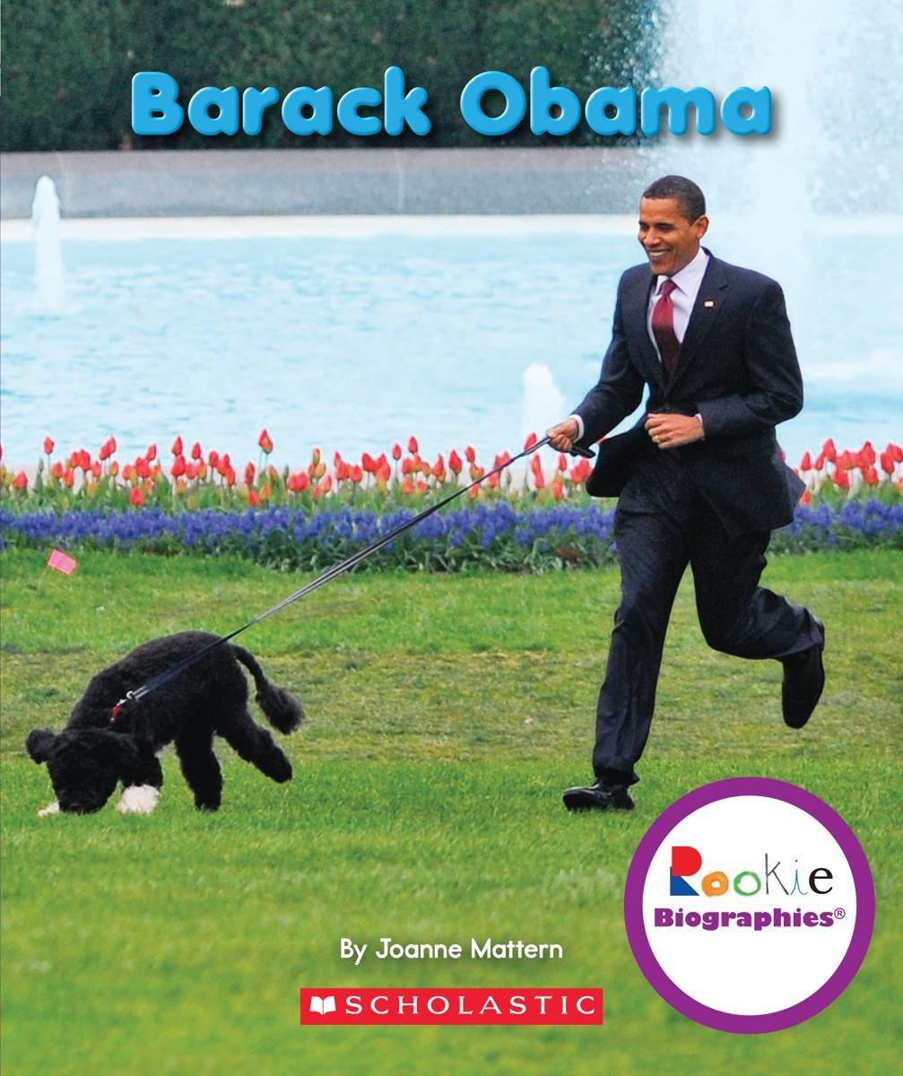 Barack Obama (Rookie Biographies)