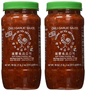 Huy Fong Fresh Chili Garlic Sauce 18 oz (Pack of 2)