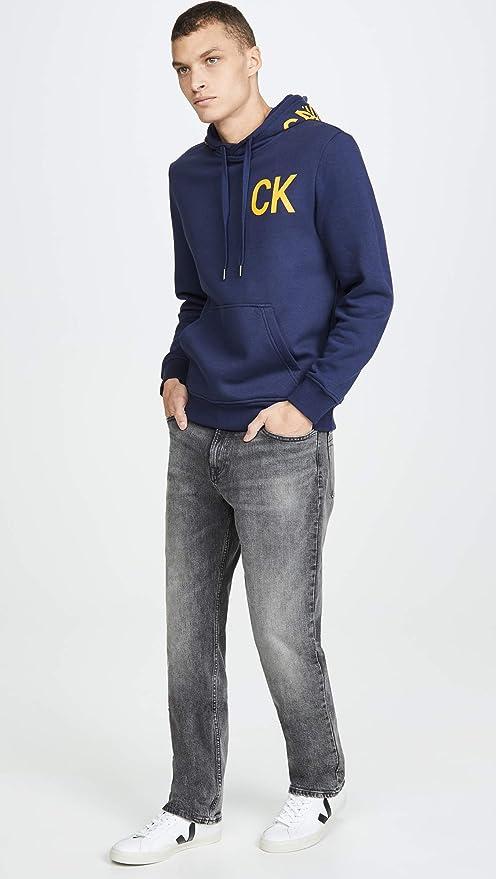 Calvin Klein Jeans 卡尔文克莱因 CK 男式直筒牛仔裤 2.7折$23.93 海淘转运到手约¥214