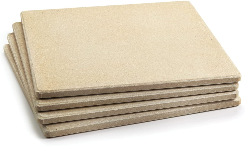 8. Outset Pizza Stone Tiles, Set Of 4