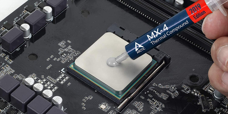 Arctic MX-4 Compuesto térmico de micropartículas de Carbono, Pasta térmica para Cualquier Ventilador de CPU - 4 Gramos (con la Herramienta): Amazon.es: ...