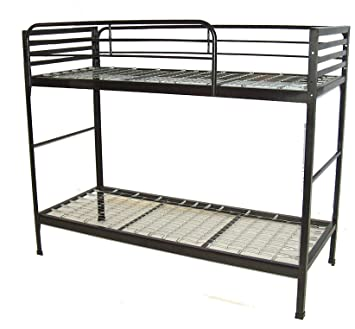 Blantex Camp Style Institutional Bunk Beds Without Mattresses