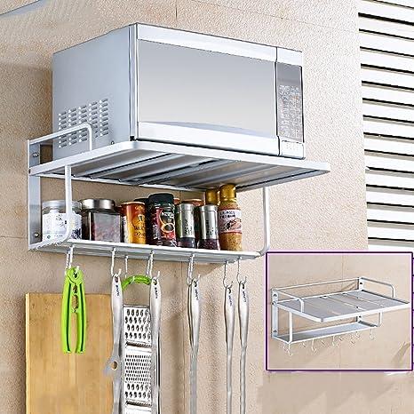 Amazon.com: Estante de almacenamiento de cocina, práctico ...