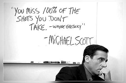 Michael Scott Inspirational Quotes Amazon.com: Michael Scott's Motivational Quote..
