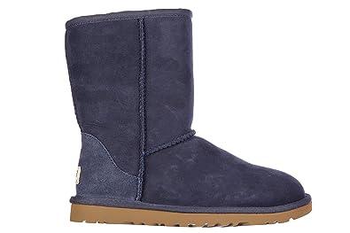 UGG Botines Botas Mujer w Classic Short BLU EU 39 5825 W: Amazon.es: Zapatos y complementos