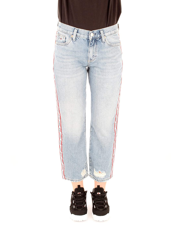 Tommy Jeans Jeans Girfriend Crop Donna: Amazon.it: Abbigliamento