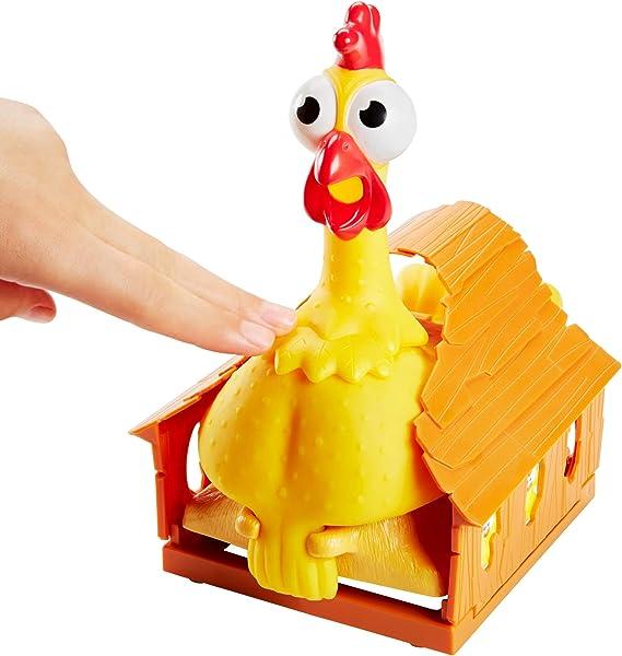 Mattel Games La Gallina Josefina, juego de mesa infantil (Mattel ...