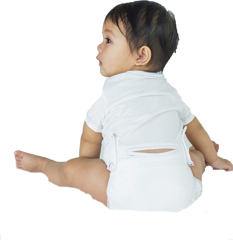 Skadoosie Organic Long Sleeve Infant Bodysuit