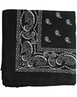 Bandanas By The Dozen, Black