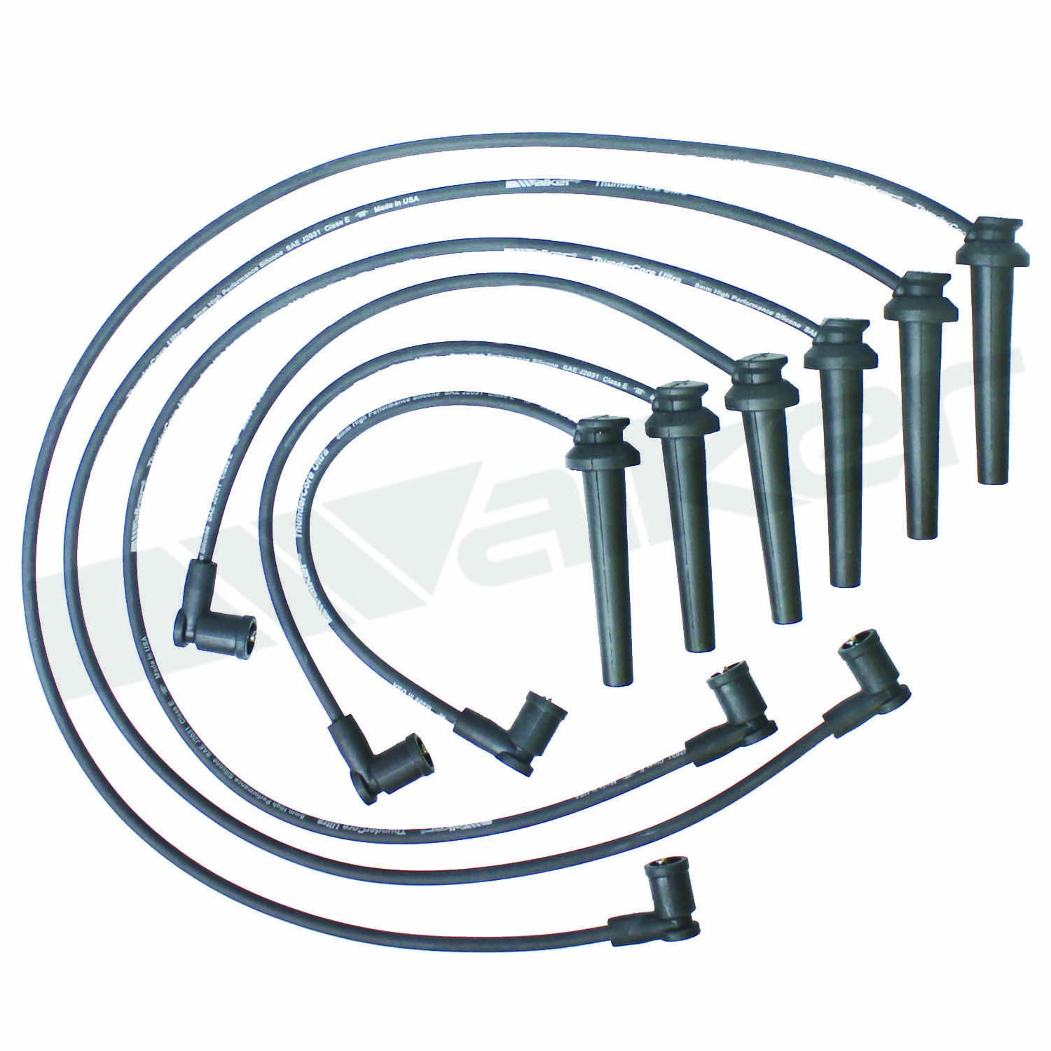 Walker Products 900-1689 Thundercore Ultra Spark Plug Wire Set