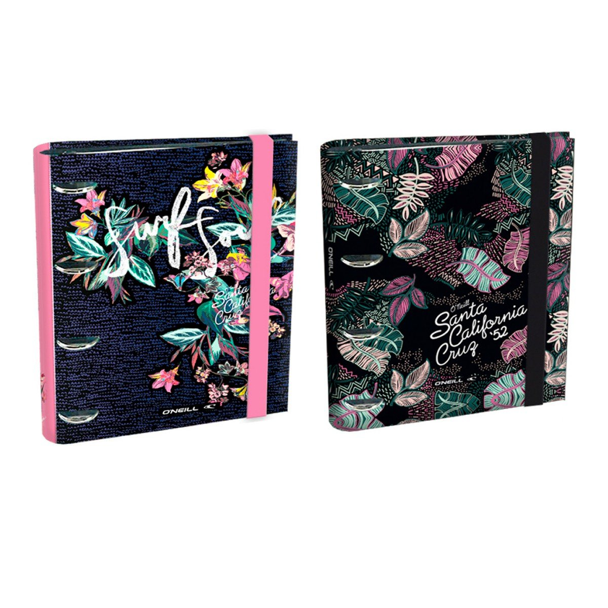 Carpeta Equipada ONEILL Girls 18B, Din-A5 4 Anillas 25 mm.: Amazon.es: Oficina y papelería