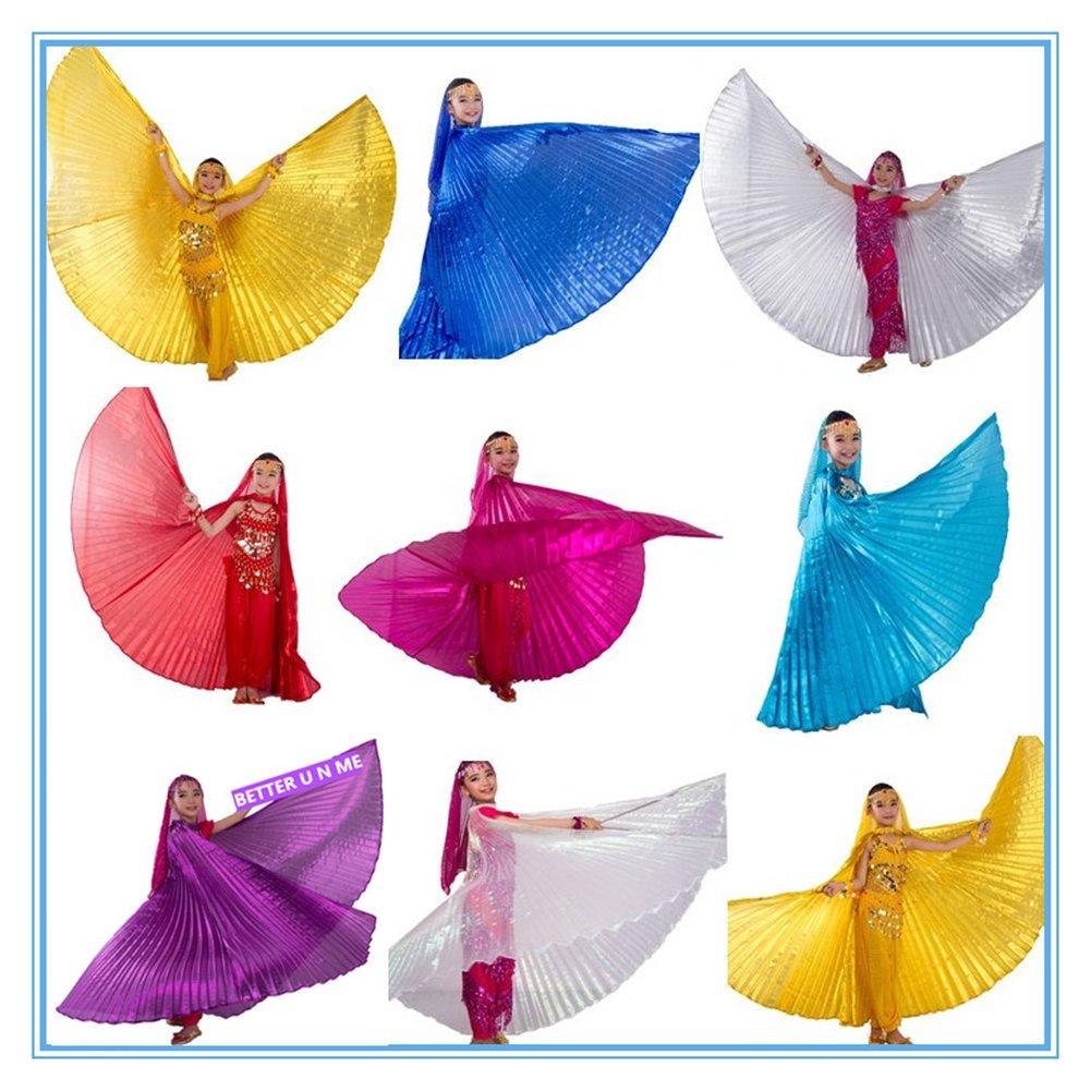 Amazon.com: WILLLIN - Disfraz de alas egipcias de Isis para ...