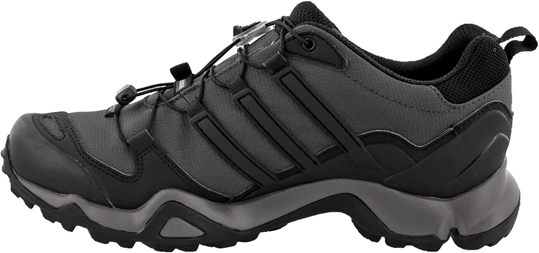 adidas outdoor Men's Terrex Swift R GTX Dark Grey Black Granite Hiking Shoe