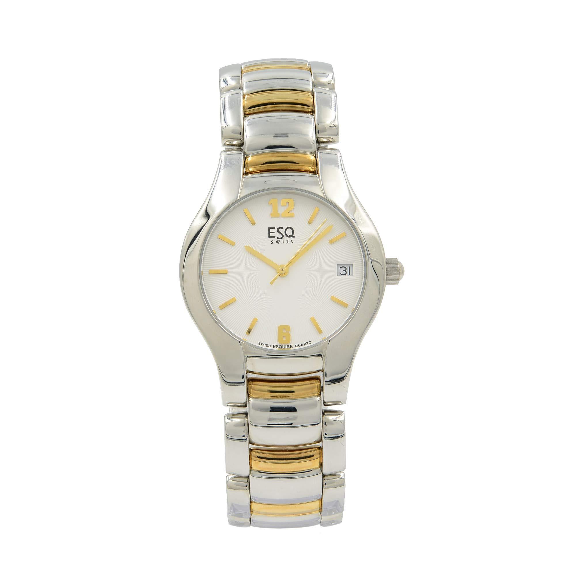 ESQ Previa Quartz Male Watch 07300671 (Certified Pre-Owned)