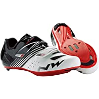 Zapatos Northwave NW Torpedo JUNIOR blanco-black-red ROAD 35