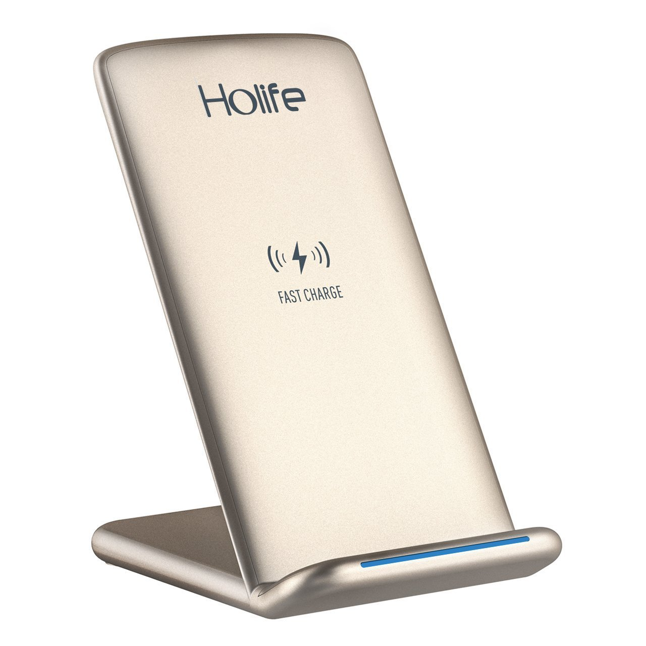 Qi Cargador Inalámbrico Rápido Holife Cargador Inalámbrico para Samsung Galaxy Note