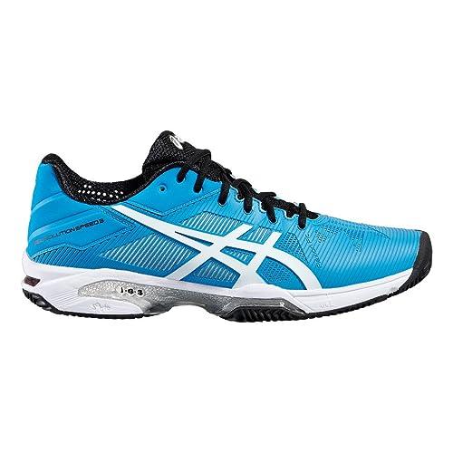 Asics Gel-Solution Speed 3 Clay, Zapatillas de Tenis para Hombre: Amazon.es: Zapatos y complementos