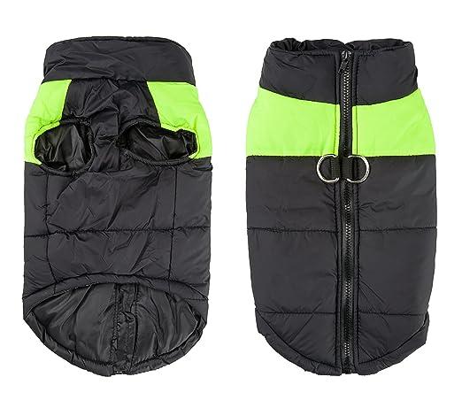 68 opinioni per Shinmax- Cappotto Impermeabile Imbottito Pile per Cani- Taglia XL (posteriore:
