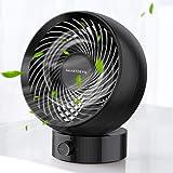 SmartDevil 2020 New USB Desk Fan, Small Personal Desktop Table Fan with Strong Wind, Quiet Operation Portable Mini Fan…