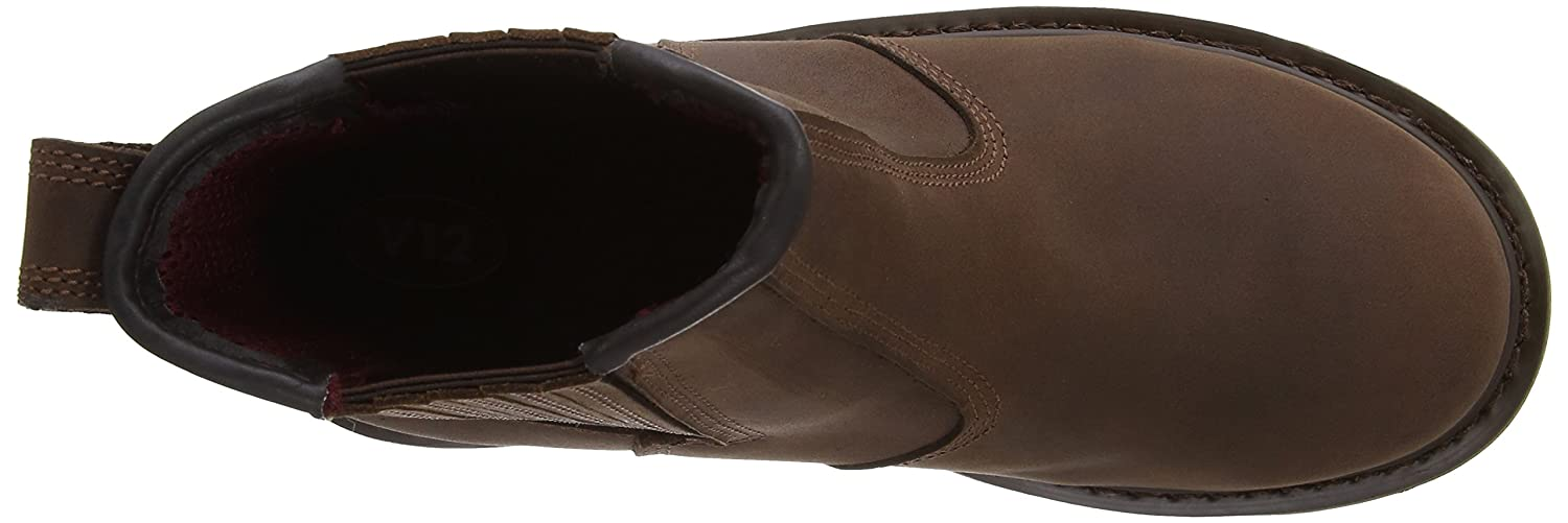V12 Rawhide 06 UK 39 EU Brown Oiled Leather Safety Dealer