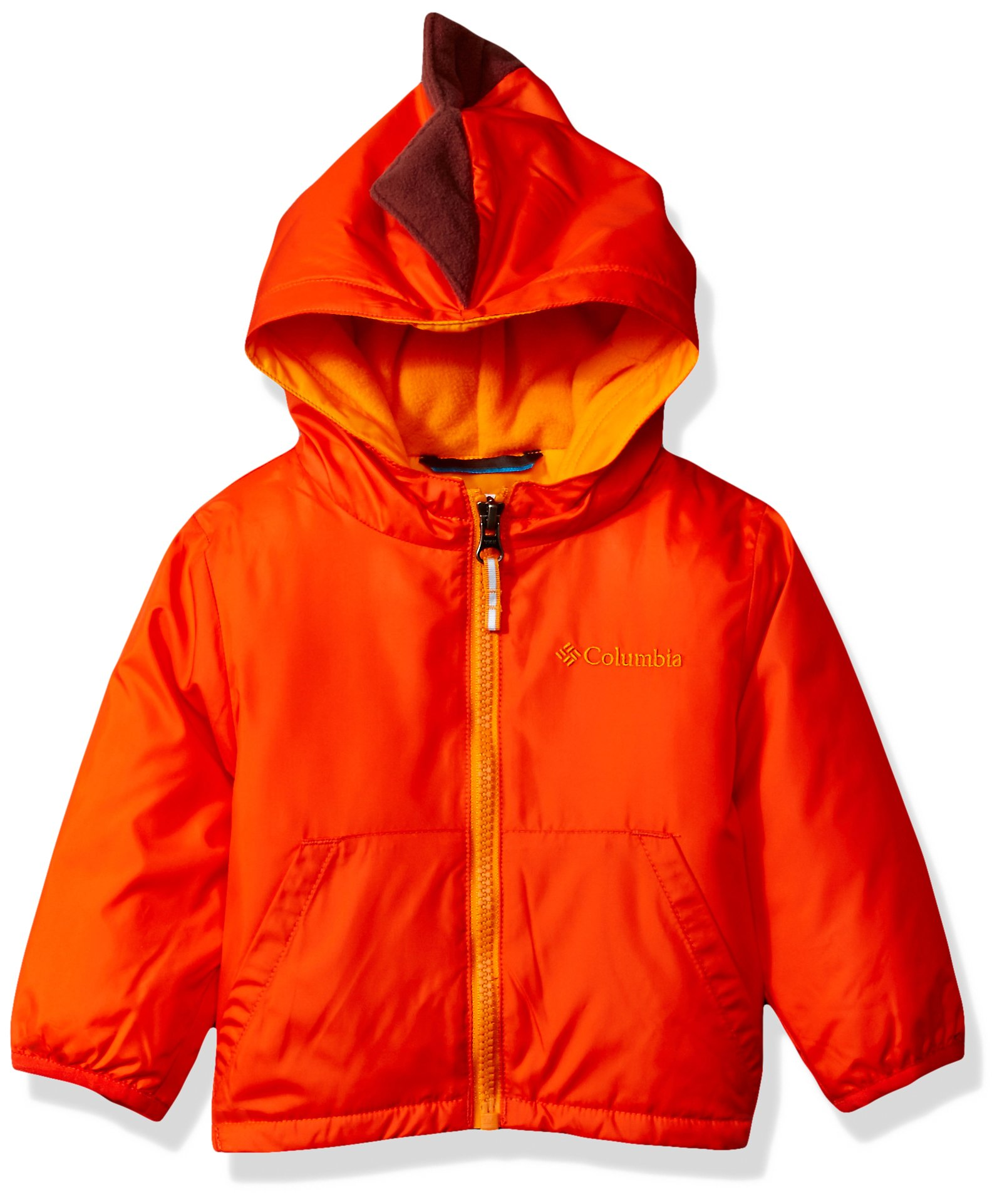 Columbia Baby Boys' Kitterwibbit Jacket, State Orange, 12-18 Months by Columbia