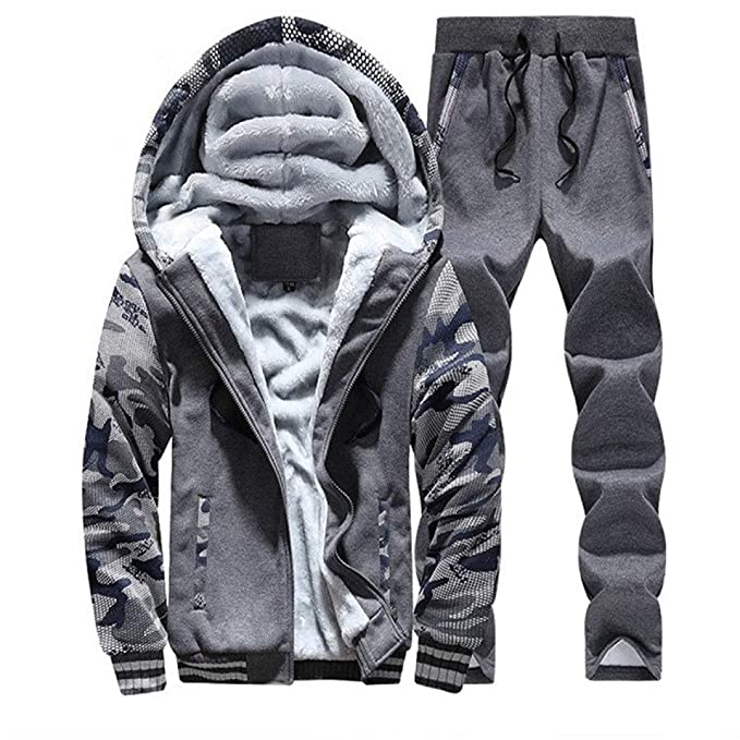 Jordan Hoodie Jordan 23 Hoodies Tracksuit Men Jacket+Pant Warm Fur Inside Hoody at Amazon Mens Clothing store: