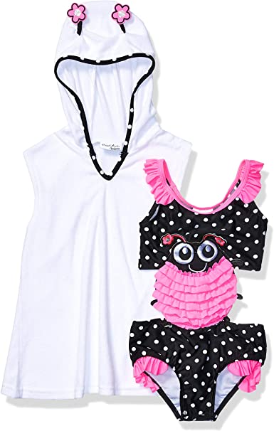 Freestyle Revolution Girls Carnival Connector Set with Terry Cover Up