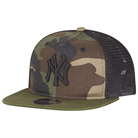 huge discount 3d99e 8dbaf ... ireland new era washed camo snp 9fifty trucker cap small medium new  york yankees 7d148 de0a5
