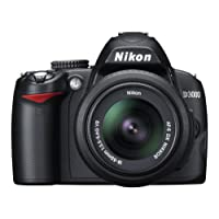 Nikon D3000 Digital SLR Camera with 18-55mm VR Lens Kit (10.2MP) 3 inch LCD