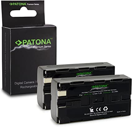 NP-F550 Batteria PATONA per Sony CCD-TRV25