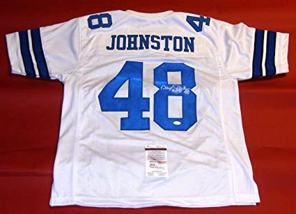 fc7e9486954 Image Unavailable. Image not available for. Color: DARYL MOOSE JOHNSTON  AUTOGRAPHED DALLAS COWBOYS JERSEY JSA