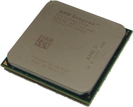 Amazon Com Amd Sempron 145 2 8 Ghz Sdx145hbk13gm Cpu Processor Socket Am2 Am3 938 Pin Computers Accessories