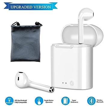Auriculares Bluetooth, Auriculares inalámbricos, Auriculares, Auriculares, micrófono estéreo Real para iPhone Samsung Huawei xiaomi, teléfono, ...