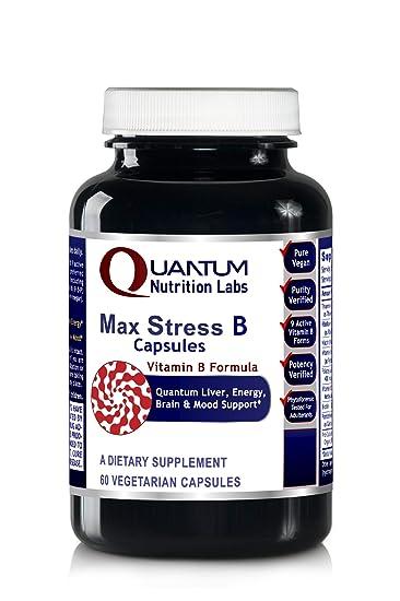 Amazon.com: Max Stress B Caps – 30 cápsulas veganas ...