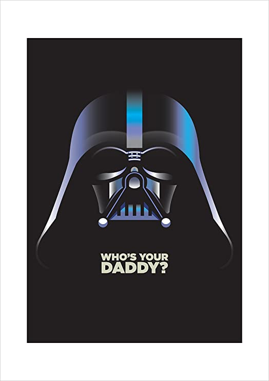 Star Wars Retro cartel, cartel de película, Darth Vader ...