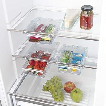 Gourmetmaxx Klemm Schublade Für Kühlschrank 3er Set Transparent Klar