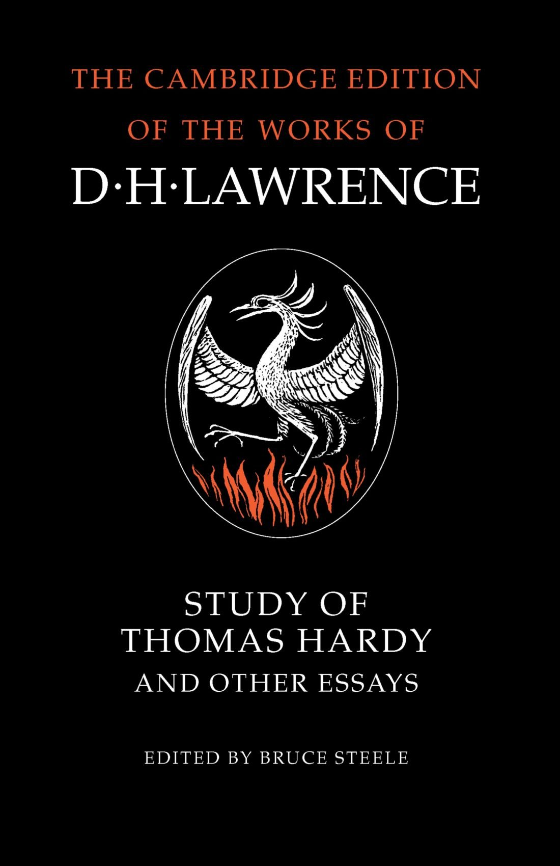 study of thomas hardy and other essays the cambridge edition of study of thomas hardy and other essays the cambridge edition of the works of d h lawrence amazon co uk bruce steele 9780521272483 books