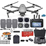 DJI Mavic 2 PRO Drone Quadcopter Fly More Combo with Hasselblad Camera, with Smart Controller, 3 Batteries, Case, ND, CPL Len