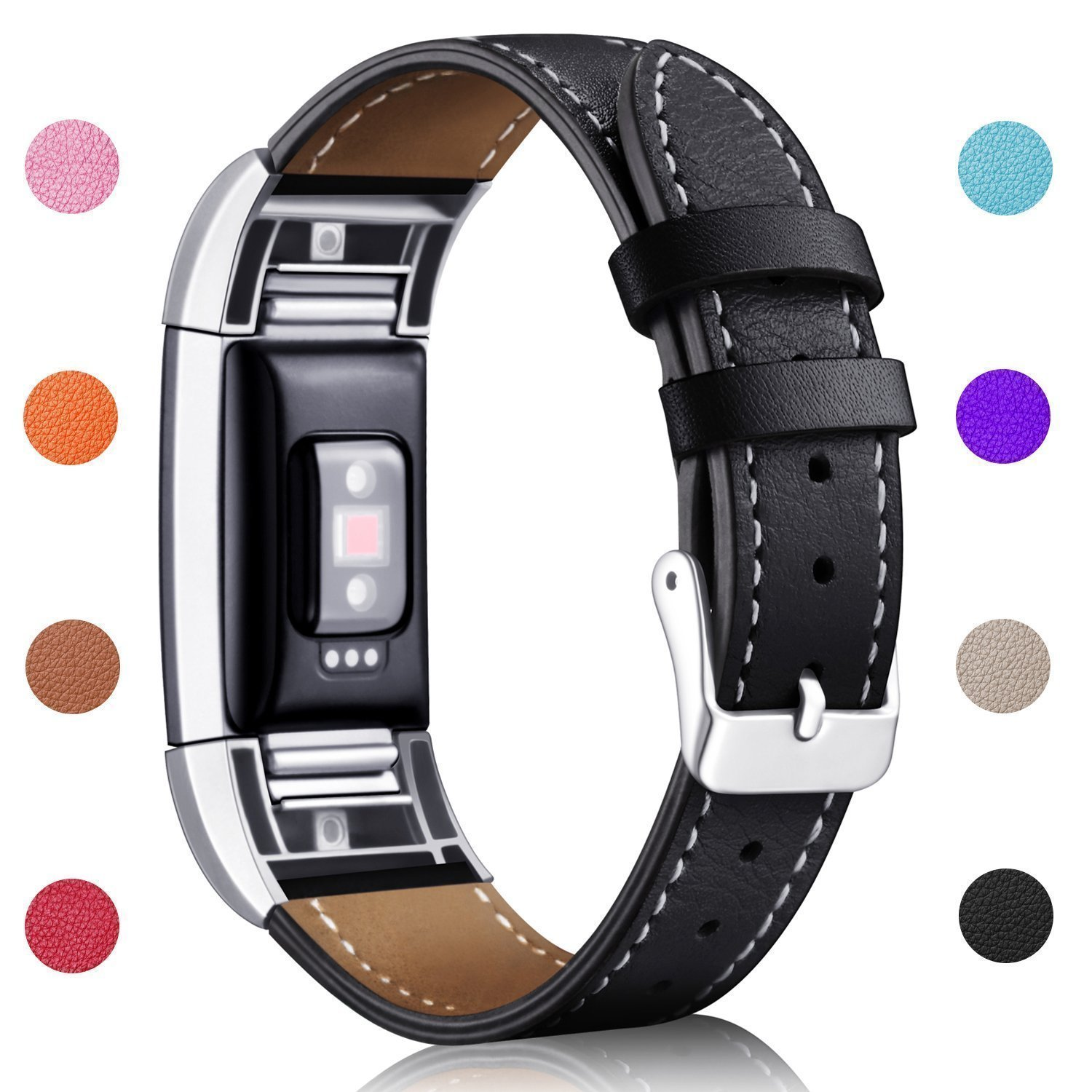 Workout Metal Bands: Hotodeal Band Compatible Fitbit Charge 2 Replacement Bands