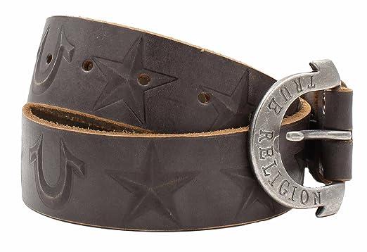 50f543299 Amazon.com  True Religion Kids Unisex Leather Belt  Clothing