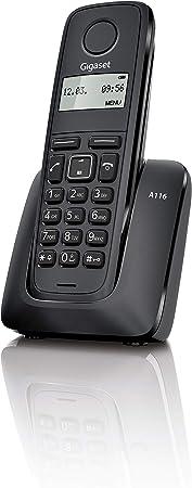Comprar Gigaset A116 - Teléfono Inalámbrico, Agenda 50 Contactos